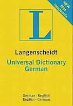 Langenscheidt Universal German Dictionary (Langenscheidt Universal Dictionaries)