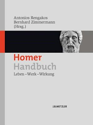 Bog, hardback Homer-Handbuch af Bernhard Zimmermann