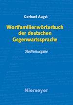 Wortfamilienworterbuch der deutschen Gegenwartssprache