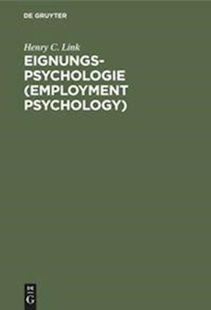 Eignungs-Psychologie (Employment Psychology)