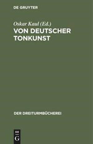 Von deutscher Tonkunst