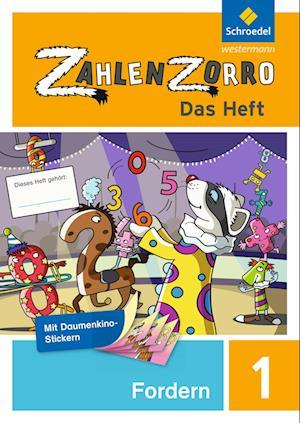 Zahlenzorro - Das Heft. Forderheft 1