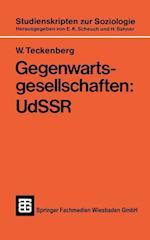 Gegenwartsgesellschaften af Wolfgang Teckenberg, W. Teckenberg