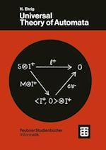 Universal Theory of Automata (Xteubner Studienbucher Informatik)