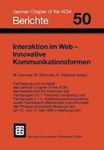 Interaktion Im Web -- Innovative Kommunikationsformen
