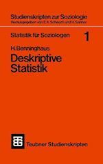 Statistik Fur Soziologen 1 af Hans Benninghaus, Hans Benninghaus
