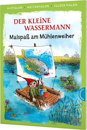 Der kleine Wassermann. Malspaß am Mühlenweiher (Ausmalen, weitermalen, selber malen)