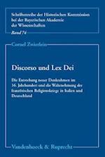 Discorso Und Lex Dei af Cornel Zwierlein