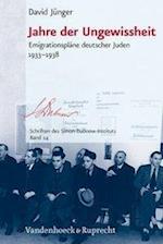 Jahre Der Ungewissheit (Schriften des Simon Dubnow Instituts, nr. 24)