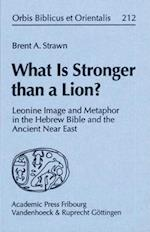 What Is Stronger Than a Lion? af Brent A. Strawn