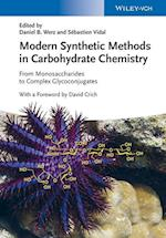 Modern Synthetic Methods in Carbohydrate Chemistry af Daniel B. Werz