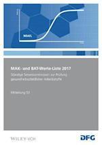MAK- und BAT-Werte-Liste 2017