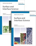 Surface and Interface Science, Volumes 7 and 8 (Wandelt Hdbk Surface and Interface Science V1 V6)
