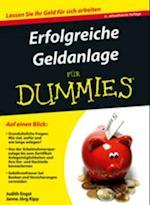 Erfolgreiche Geldanlage f r Dummies af Judith Engst
