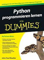 Python programmieren lernen f r Dummies (Fr Dummies)