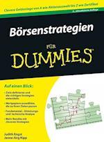 Borsenstrategien fur Dummies af Judith Engst