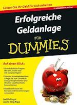 Erfolgreiche Geldanlage fur Dummies af Judith Engst