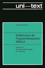 Einfuhrung in Die Programmiersprache Simula