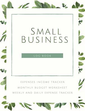 Small Business Logbook Expenses Income Tracker Monthly Budget Worksheet Weekly and daily Expense Tracker