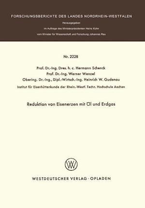 Bog, paperback Reduktion Von Eisenerzen Mit Ol Und Erdgas af Hermann Schenck