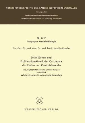 DNA-Gehalt Und Proliferationskinetik Der Carcinome Des Kiefer- Und Gesichtsbereichs