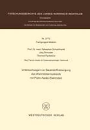 Untersuchungen Zur Sauerstoffversorgung Des Warmblütermyokards Mit Platin-Nadel-Elektroden