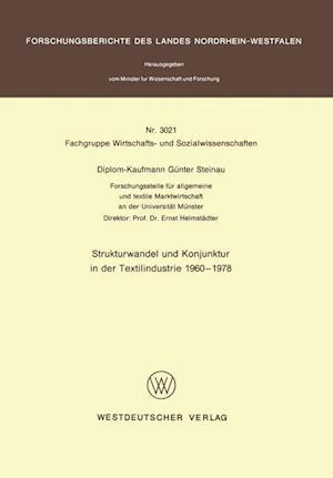 Strukturwandel und Konjunktur in der Textilindustrie 1960 - 1978