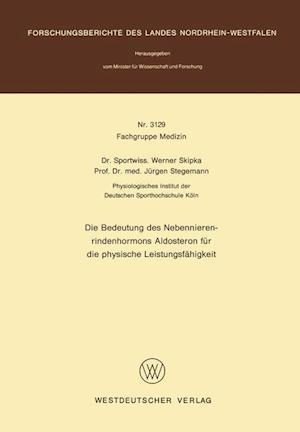 Die Bedeutung Des Nebennierenrindenhormons Aldosteron Für Die Physische Leistungsfähigkeit