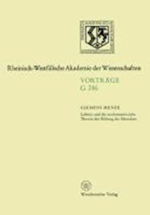 Leibniz Und Die Neuhumanistische Theorie Der Bildung Des Menschen
