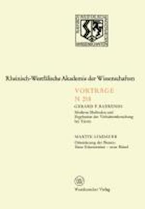 Bog, paperback Moderne Methoden Und Ergebnisse Der Verhaltensforschung Bei Tieren. Orientierung Der Bienen af Gerard P. Baerends, Gerard P. Baerends