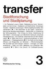 Stadtforschung und Stadtplanung af Carl Bohret