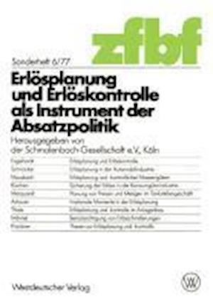 Erlösplanung Und Erlöskontrolle ALS Instrument Der Absatzpolitik