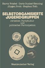 Selbstorganisierte Jugendgruppen Zwischen Partykultur und Politischer Partizipation af Harry Friebel