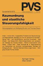 Raumordnung Und Staatliche Steuerungsfahigkeit