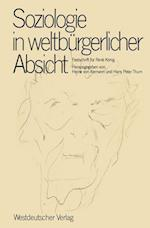 Soziologie in Weltburgerlicher Absicht af Heine v. Alemann