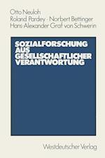 Sozialforschung aus Gesellschaftlicher Verantwortung af Otto Neuloh