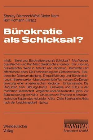Burokratie als Schicksal?