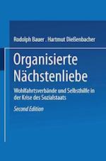 Organisierte Nachstenliebe af Rudolph Bauer, Hartmut Dieenbacher