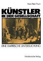 Kunstler in Der Gesellschaft af Hans Peter Thurn, Hanspeter Thurn