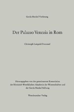 Bog, paperback Der Palazzo Venezia in ROM af Christoph Luitpold Frommel, Christoph Luitpold Frommel
