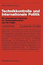 Technikkontrolle Und Internationale Politik (Leviathan Sonderhefte)