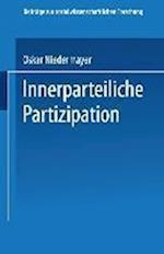 Innerparteiliche Partizipation af Oskar Niedermayer