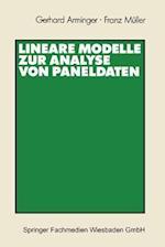 Lineare Modelle Zur Analyse Von Paneldaten af Gerhard Arminger, Gerhard Arminger
