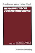 Hermeneutische Jugendforschung af Arno Combe