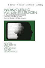Informatisierung Von Dienstleistungen af Erich Behrendt, Bernd Biervert, Kurt Monse