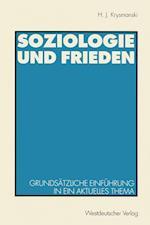 Soziologie Und Frieden af Hans Jurgen Krysmanski