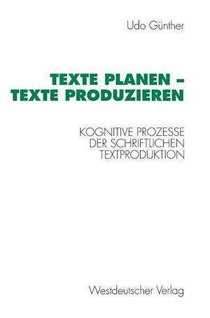 Texte Planen -- Texte Produzieren
