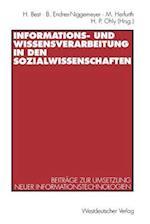 Informations- Und Wissensverarbeitung in Den Sozialwissenschaften