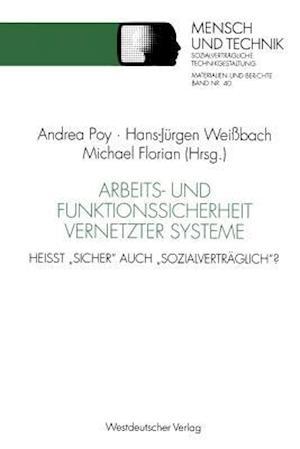 Arbeits- Und Funktionssicherheit Vernetzter Systeme