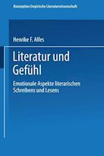 Literatur Und Gefuhl af Henrike F. Alfes